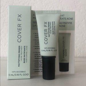 5/$25 COVER FX Mattifying Primer + Acne Treatment